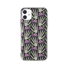 1pc Skeleton Hand Pattern iPhone Case