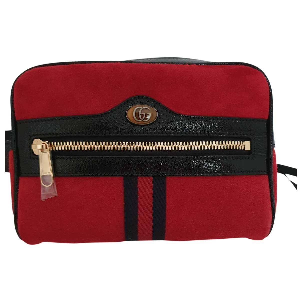 Gucci Ophidia Red Suede handbag for Women \N