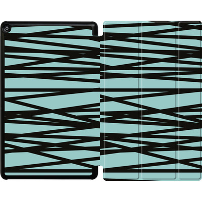 Amazon Fire HD 10 (2018) Tablet Smart Case - Rendezvous Stripe von Khristian Howell