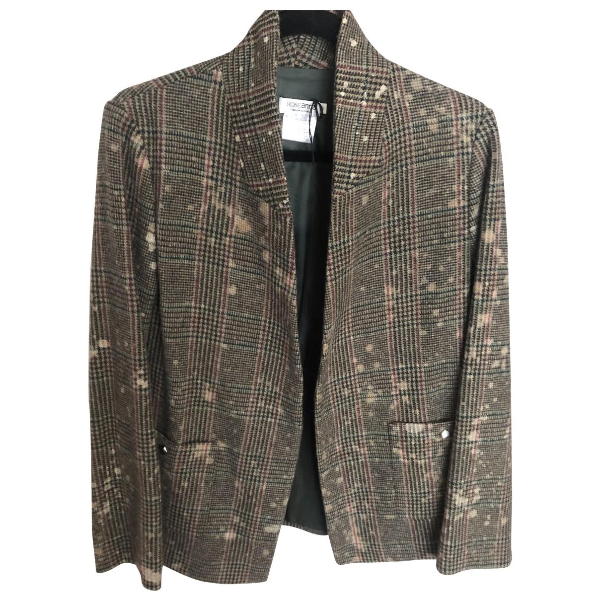 Roseanna \N Brown jacket for Women 36 FR