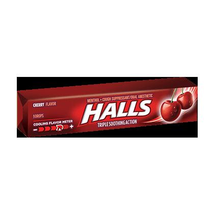 Halls Cough Drops 1Pc - Cherry