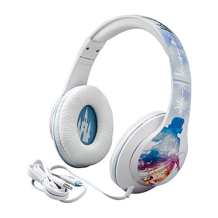 Frozen 2 Headphones with in-line Mic, One Size , Blue