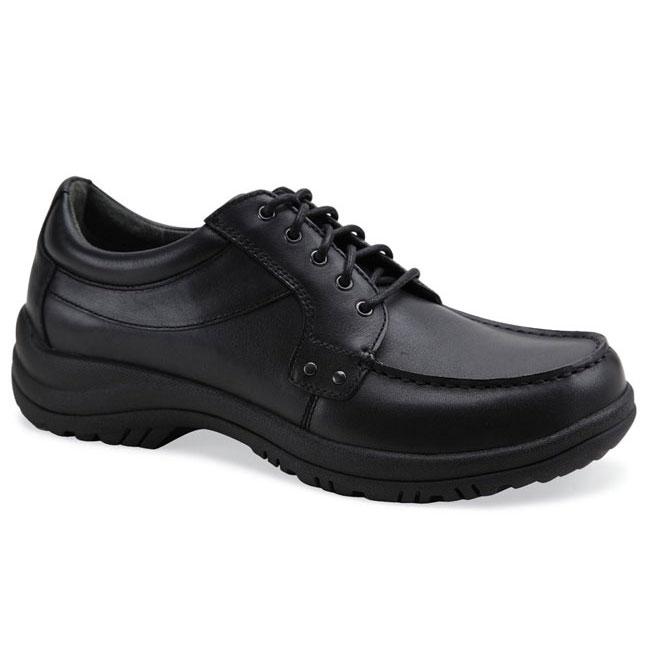 Dansko Wyatt Black Leather Slip-Resistant 42