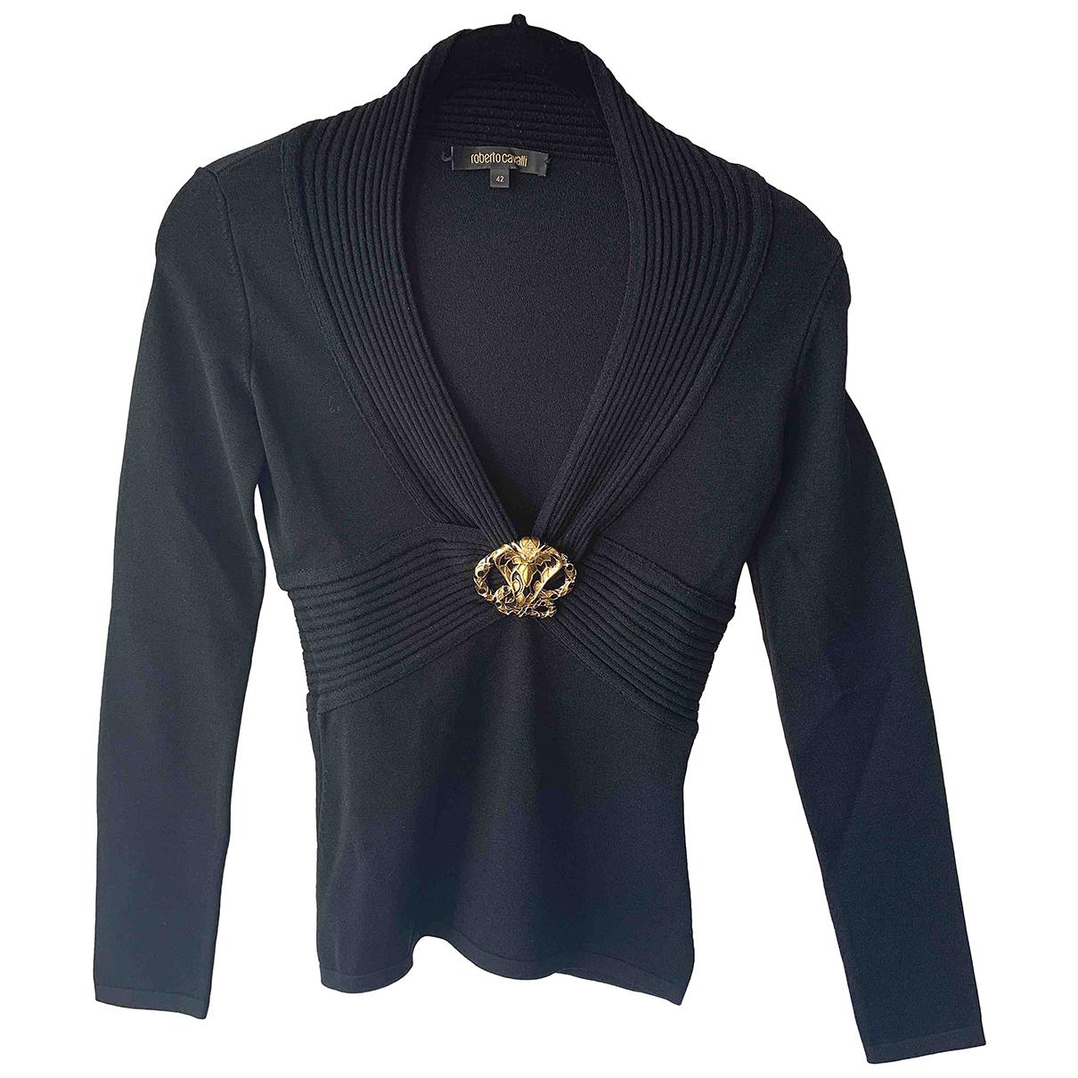 Roberto Cavalli N Black Knitwear for Women 42 IT