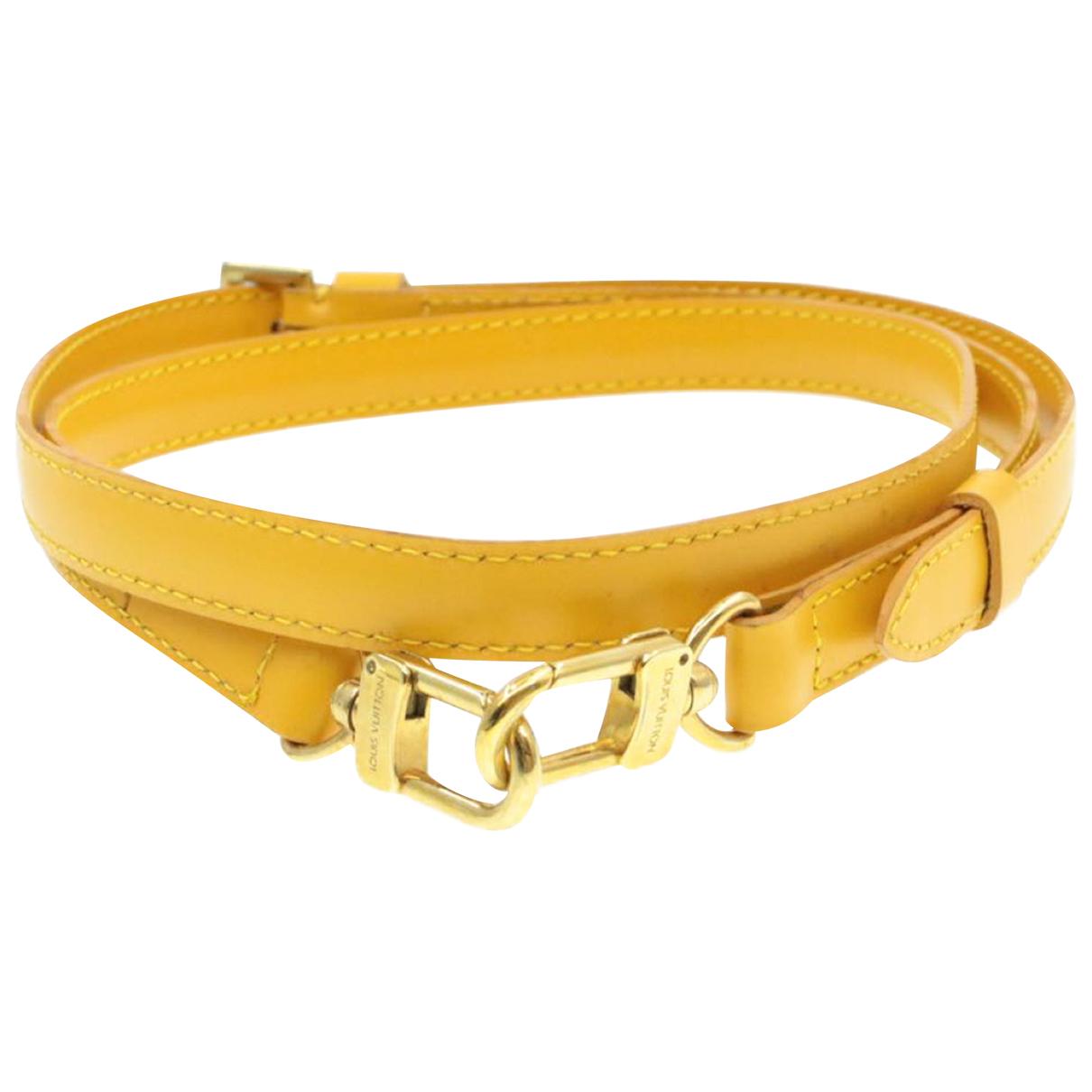 Louis Vuitton - Foulard   pour femme en autre - jaune