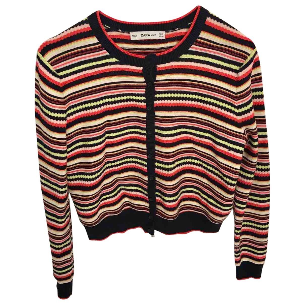 Zara \N Pullover in  Bunt Baumwolle