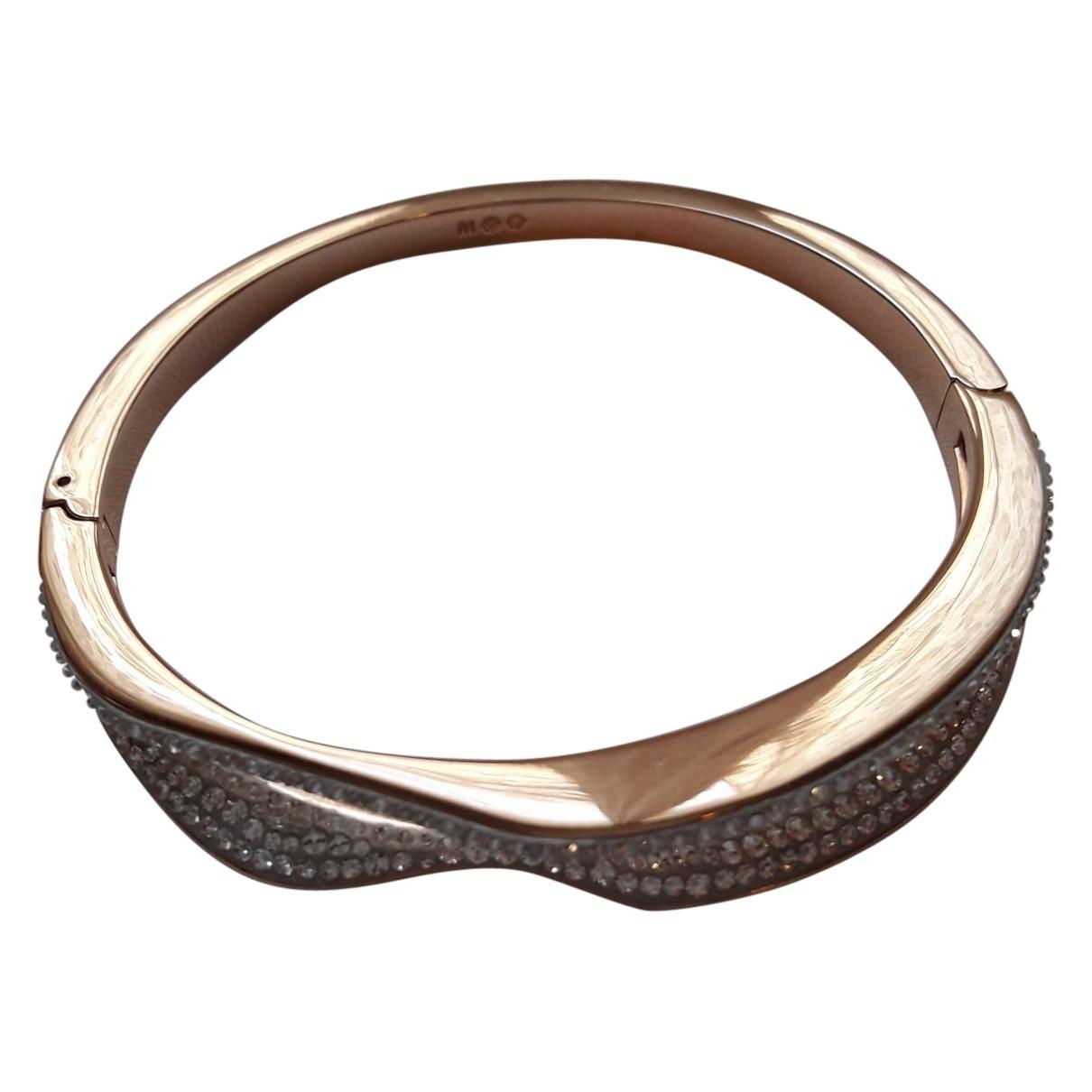 Swarovski \N Pink Metal bracelet for Women \N
