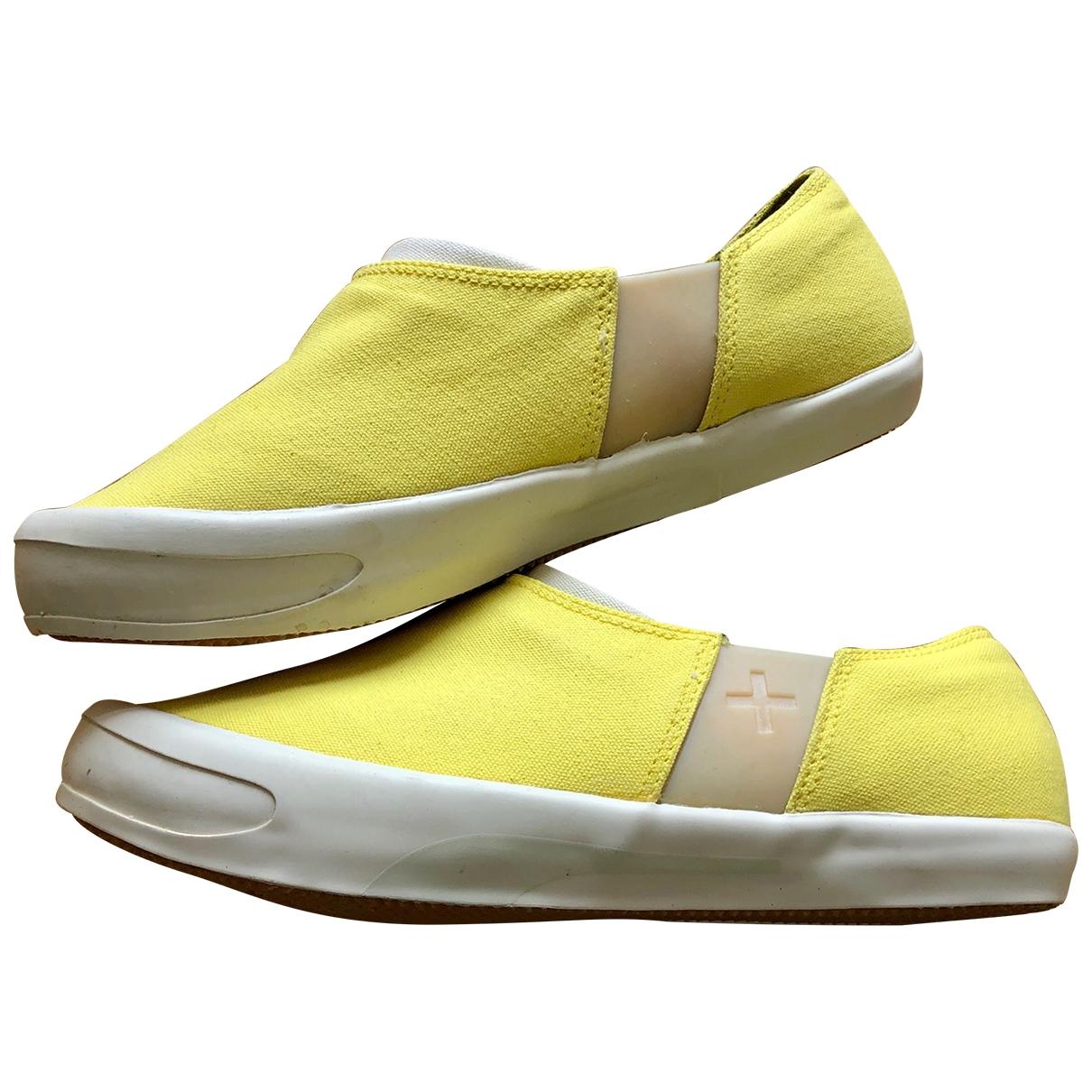 Puma \N Sneakers in  Gelb Leinen