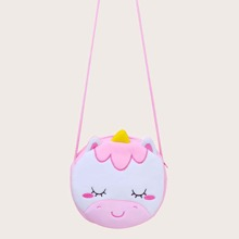 Kids Unicorn Design Crossbody Bag