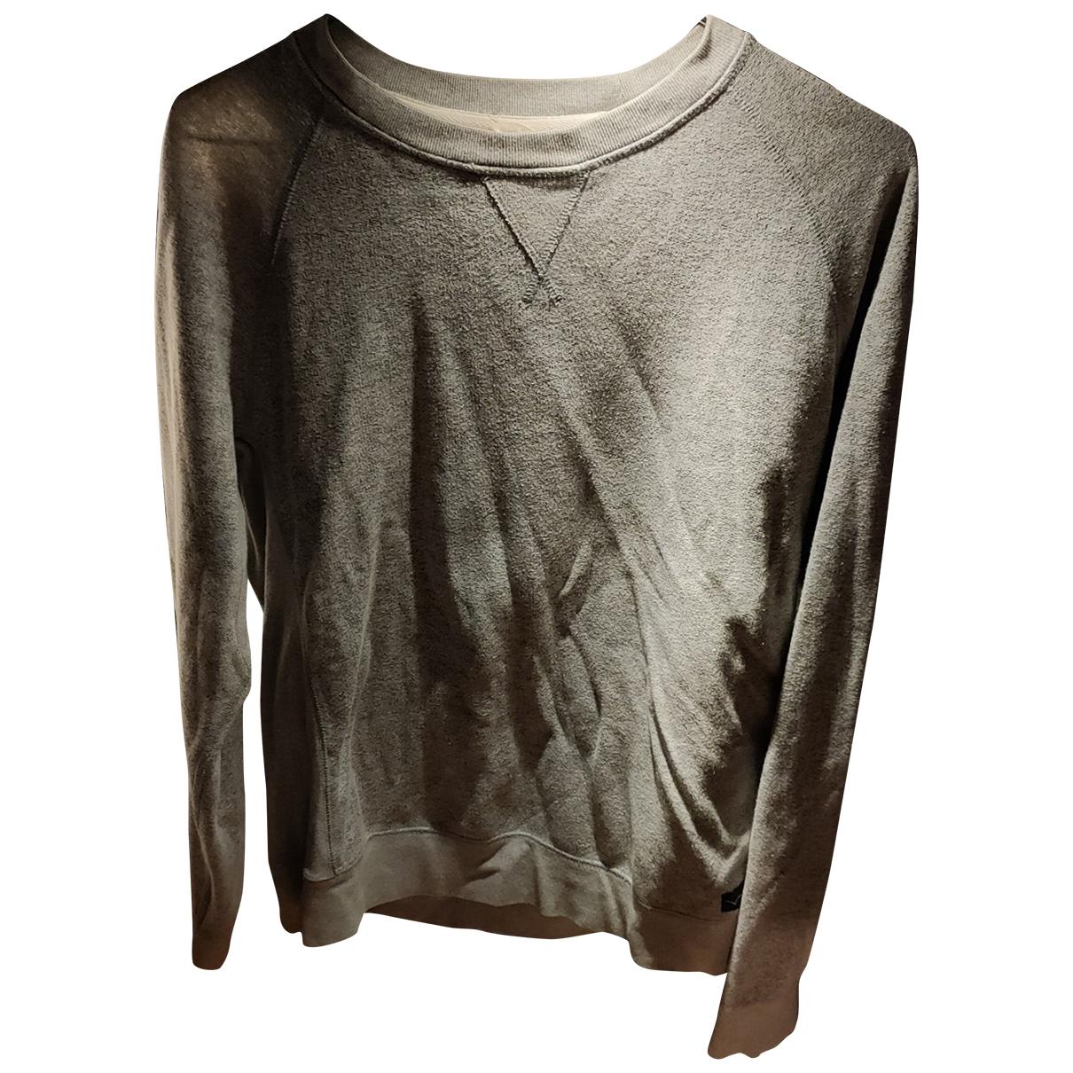 Edwin \N Pullover.Westen.Sweatshirts  in  Grau Baumwolle