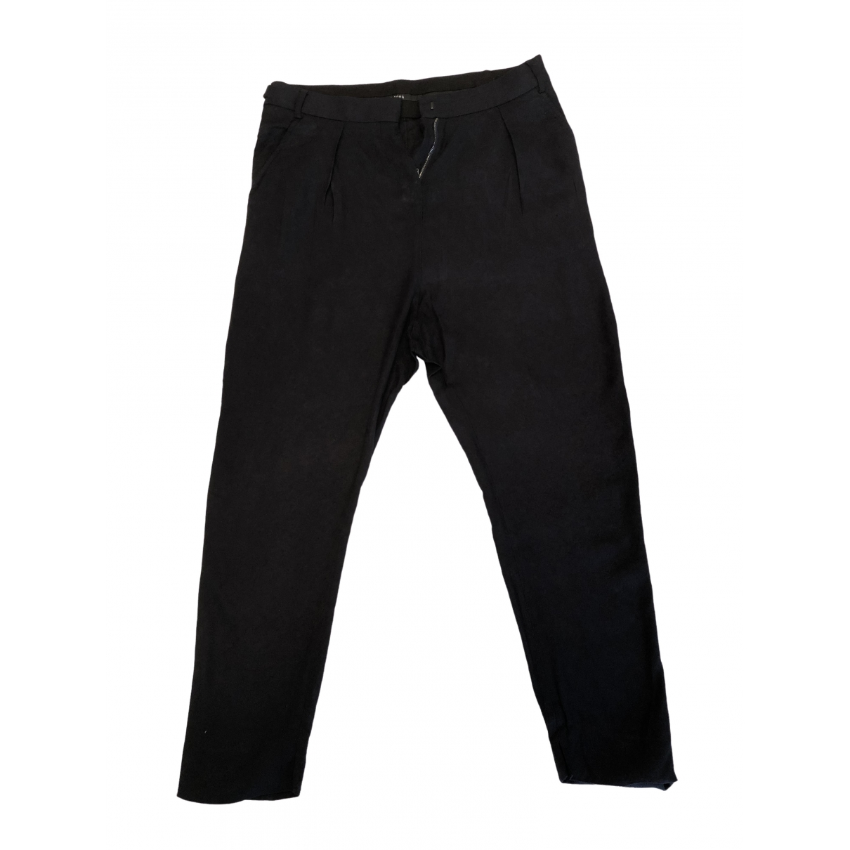 Damir Doma \N Navy Trousers for Women 36 IT
