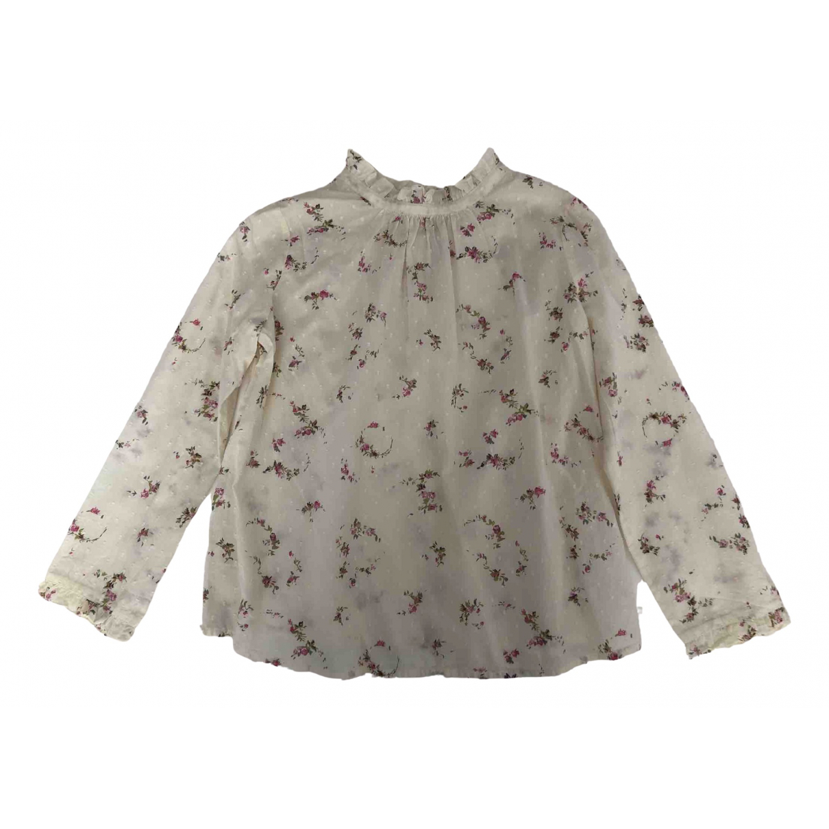 Bonpoint \N Beige Cotton  top for Kids 8 years - up to 128cm FR