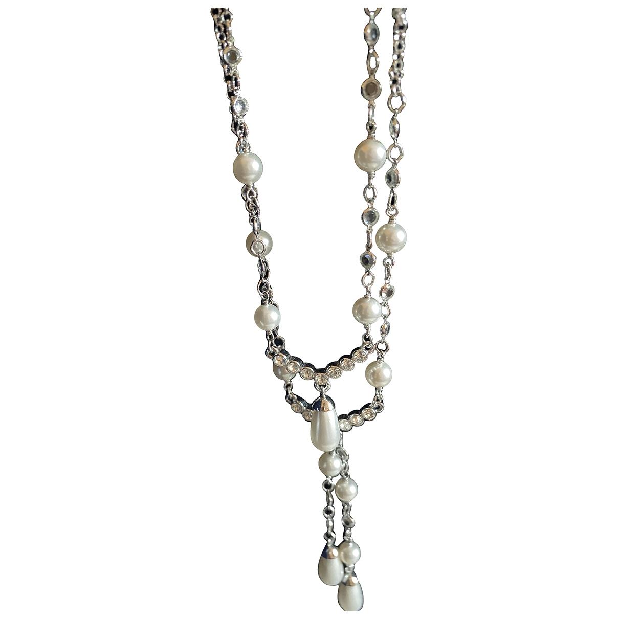 Swarovski \N Kette in  Silber Stahl