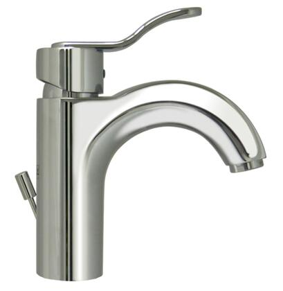 3-04040-C Wavehaus single hole/single lever lavatory faucet with pop-up