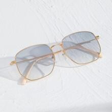 Sonnenbrille mit Metall Rahmen