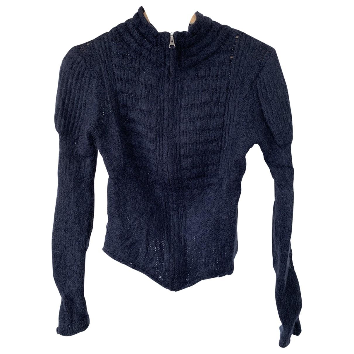 Berenice - Pull   pour femme en laine - bleu
