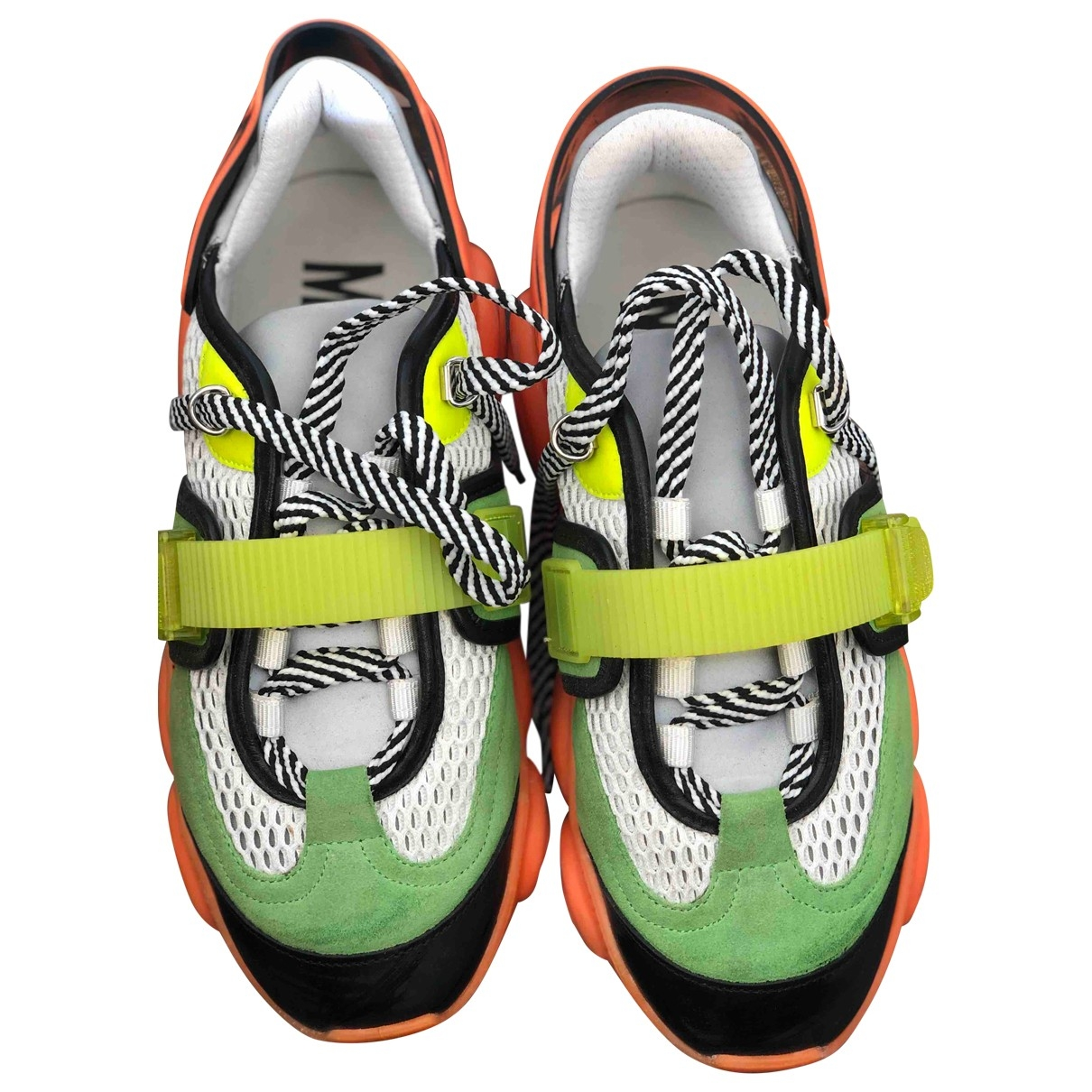 Moschino \N Multicolour Cloth Trainers for Women 39 IT