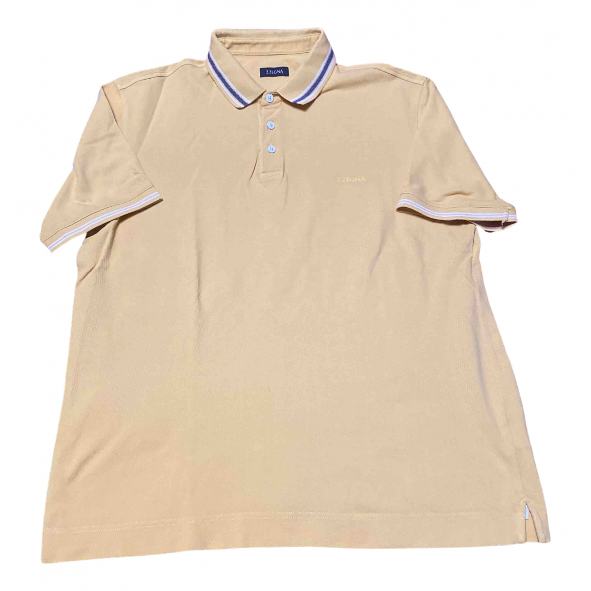 Z Zegna \N Poloshirts in  Gelb Baumwolle