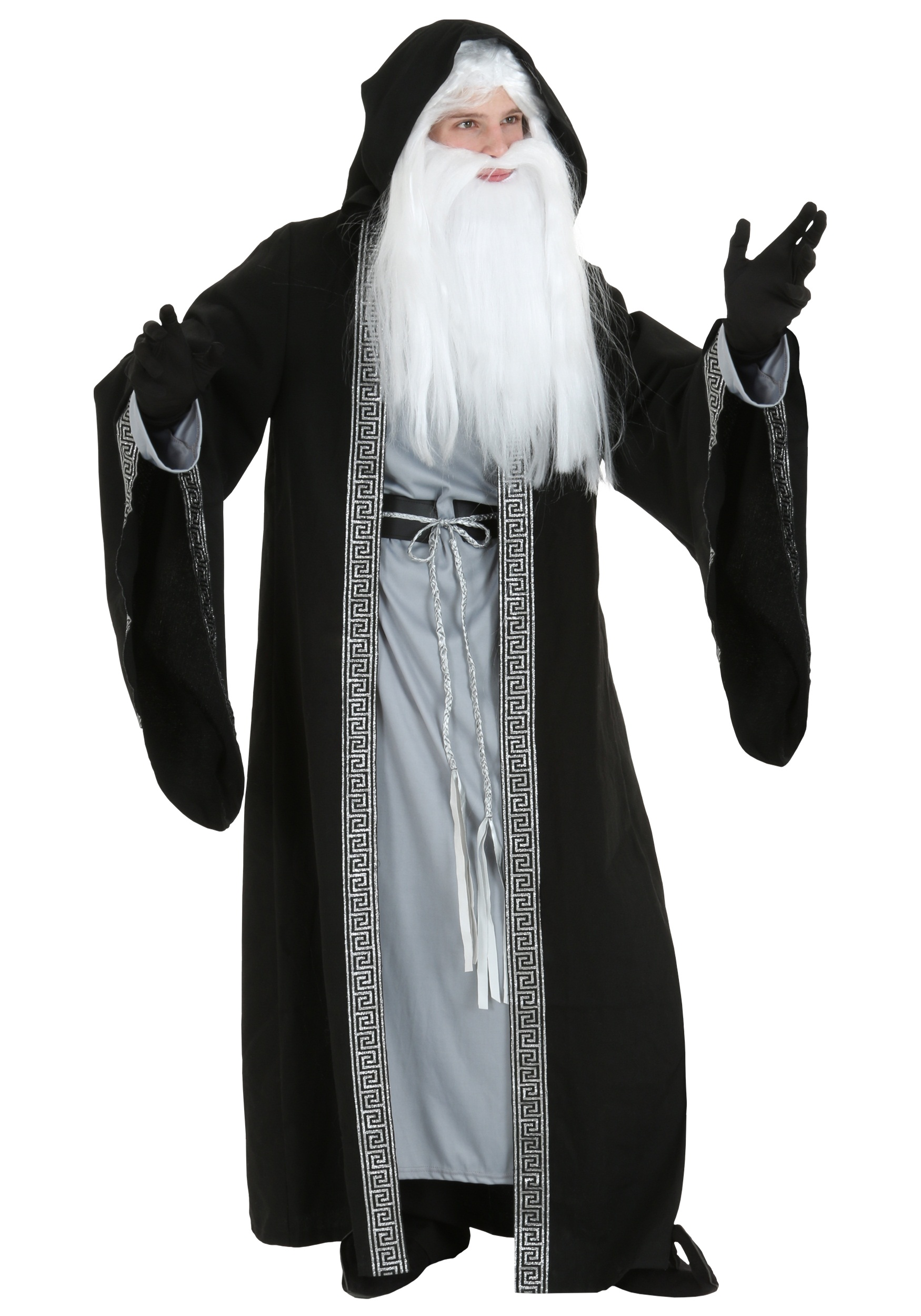 Deluxe Wizard Costume For Grown Ups