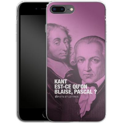 Apple iPhone 8 Plus Silikon Handyhuelle - Kant Blaise Et Pascal von Fists Et Lettres