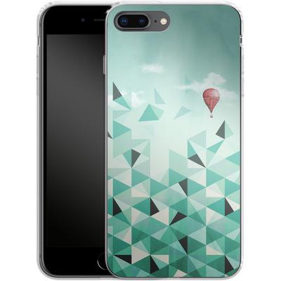 Apple iPhone 8 Plus Silikon Handyhuelle - Emerald City von Little Clyde