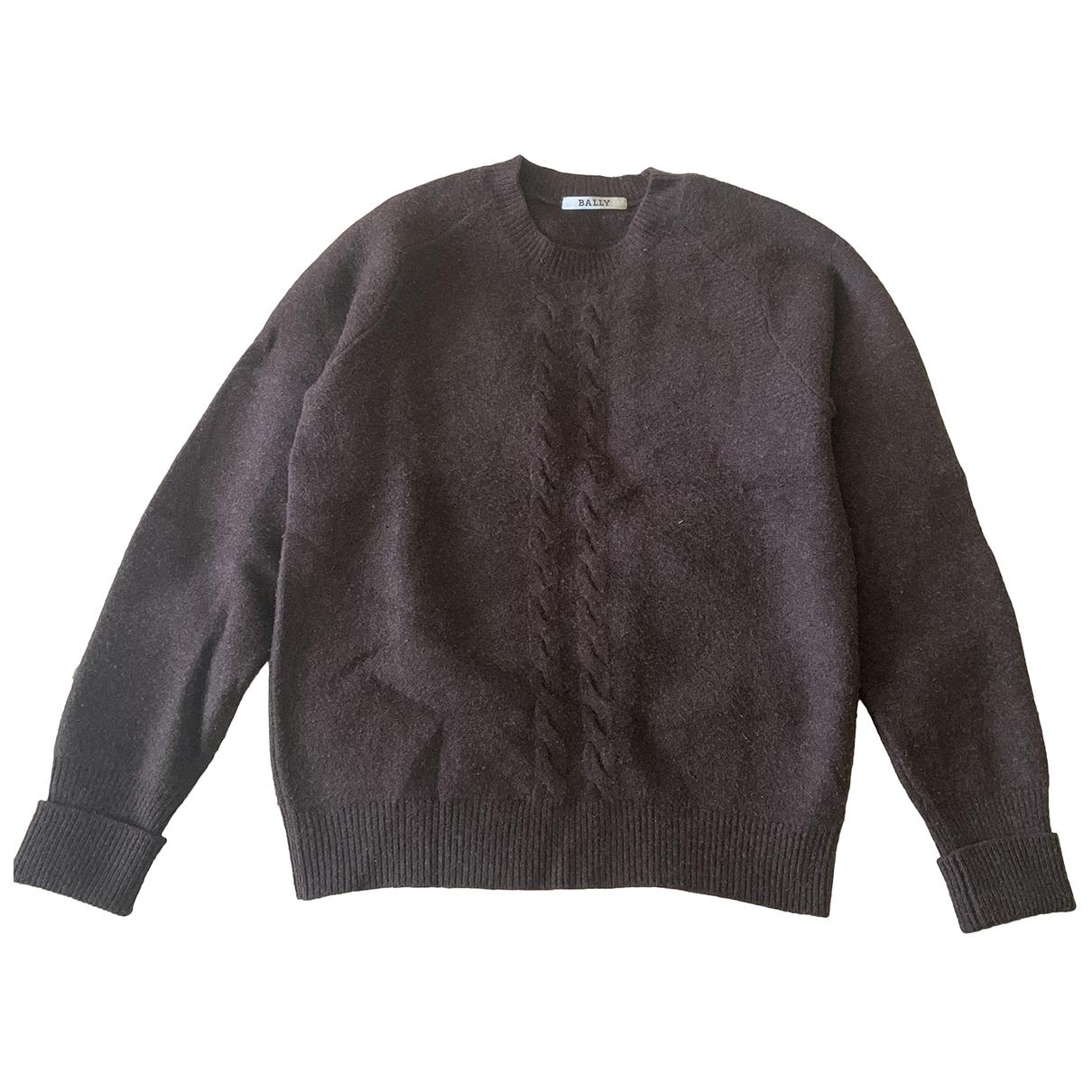 Bally - Pulls.Gilets.Sweats   pour homme en laine - marron