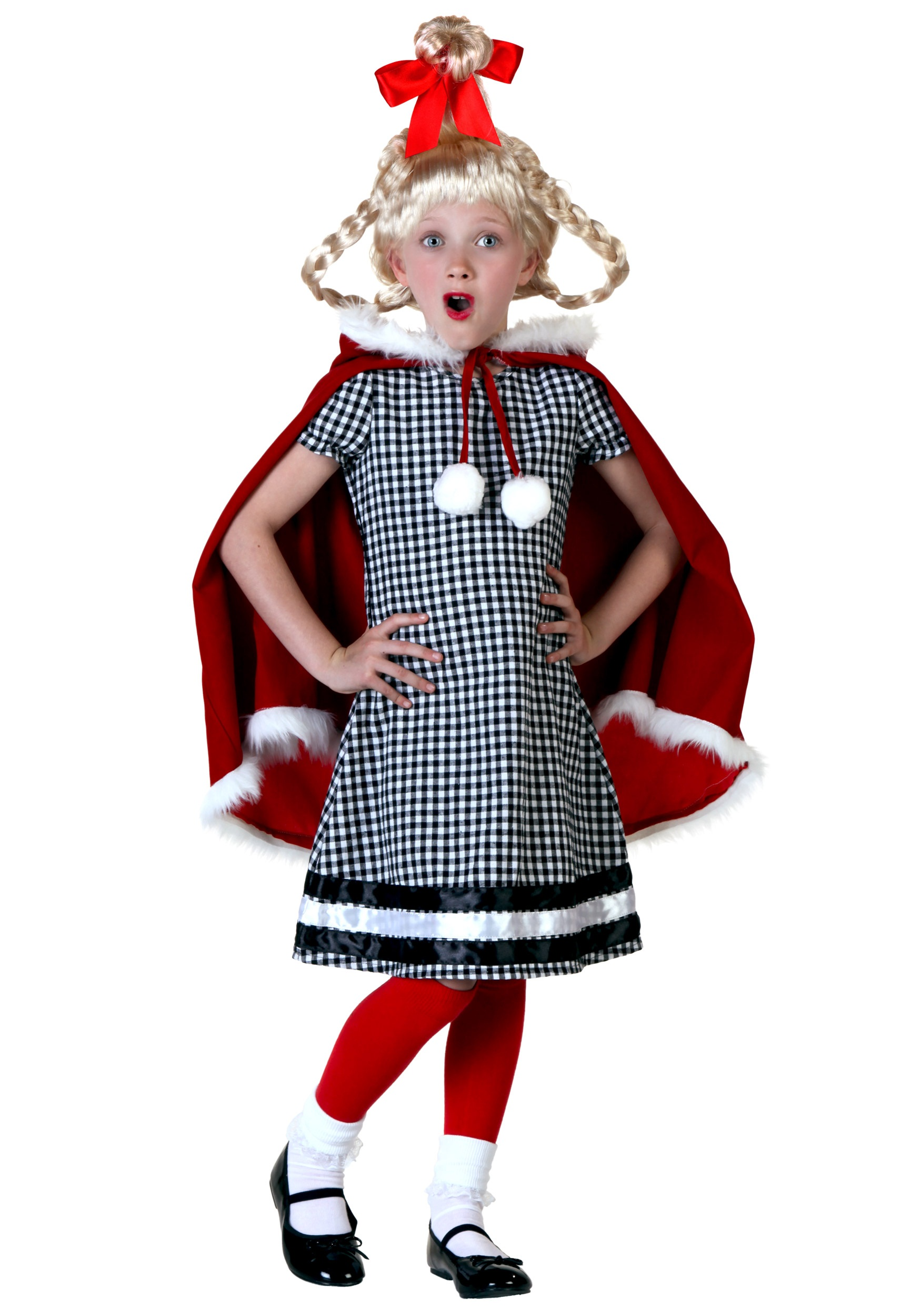 Christmas Girl Costume for Kids