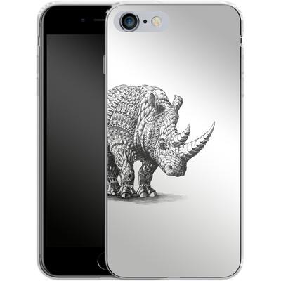 Apple iPhone 6 Plus Silikon Handyhuelle - Rhinoceros von BIOWORKZ