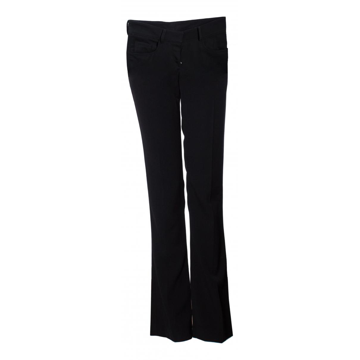 Prada - Pantalon   pour femme en coton - noir