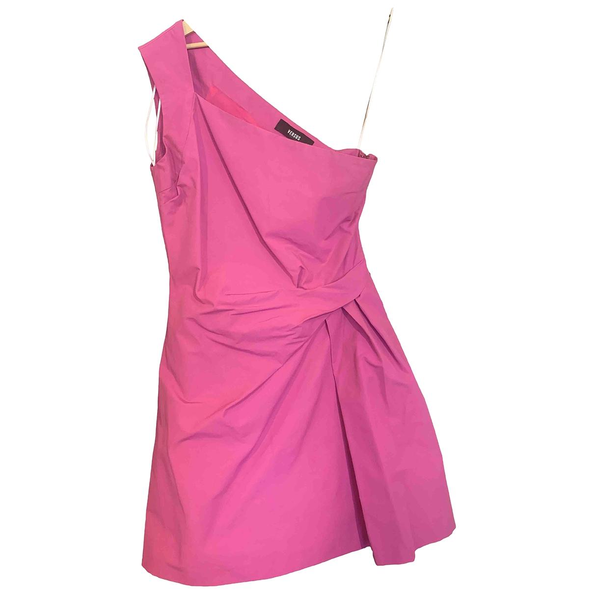 Versus \N Kleid in  Rosa Baumwolle