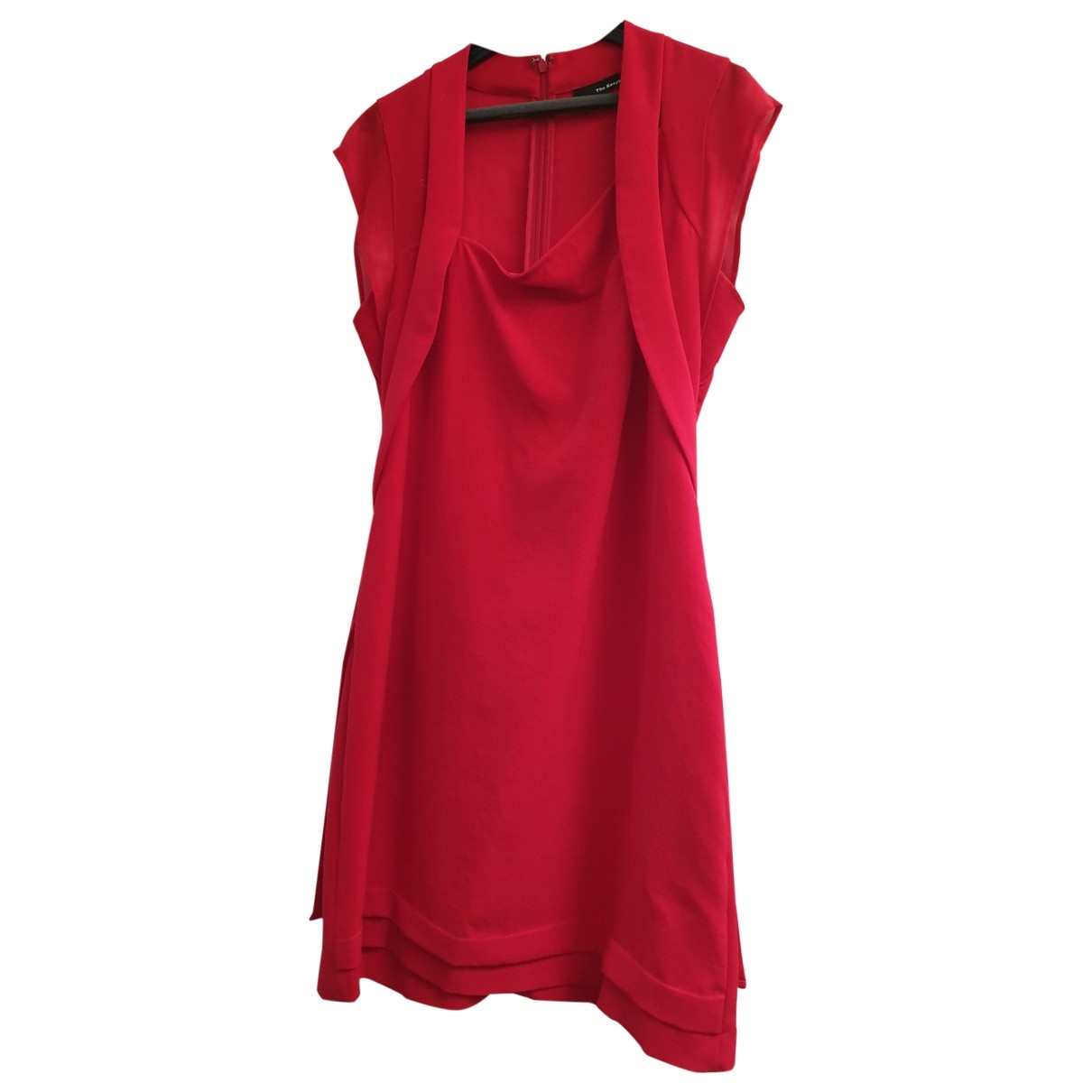 The Kooples \N Kleid in  Rot Polyester