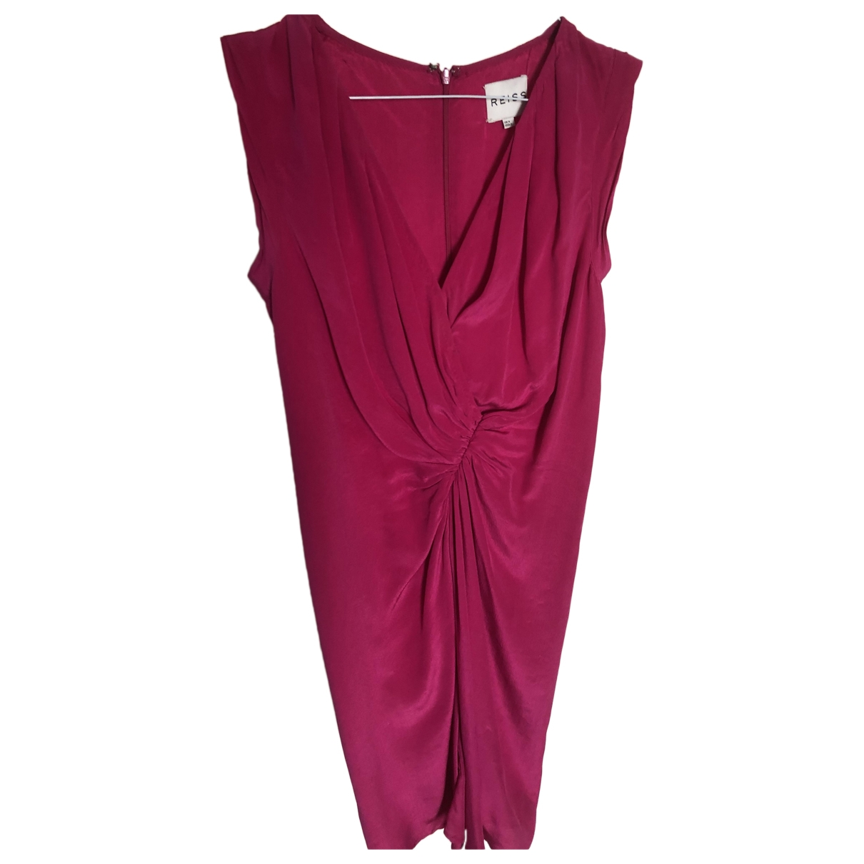 Reiss \N Kleid in  Rosa Seide