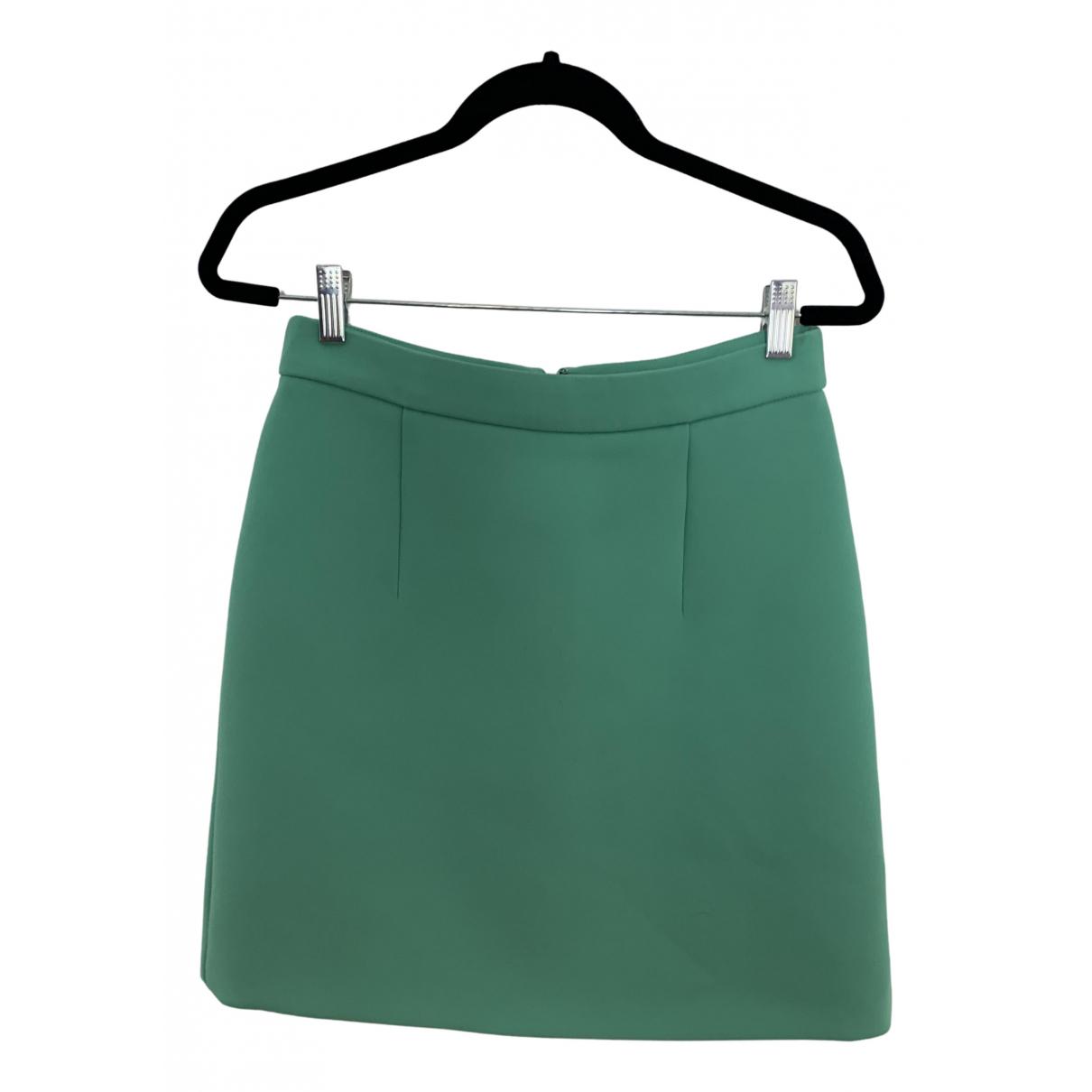 Mcq - Jupe   pour femme en coton - vert