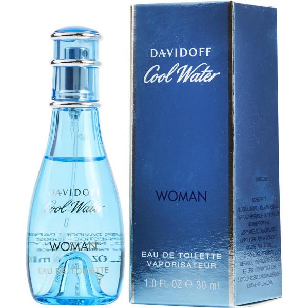Cool Water Pour Femme - Davidoff Eau de toilette en espray 30 ML
