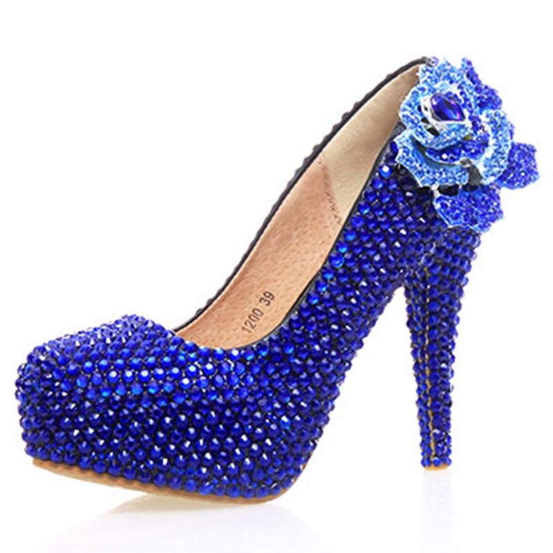 Ericdress Charming Rhinestone Ultra-High Heel Wedding Shoes