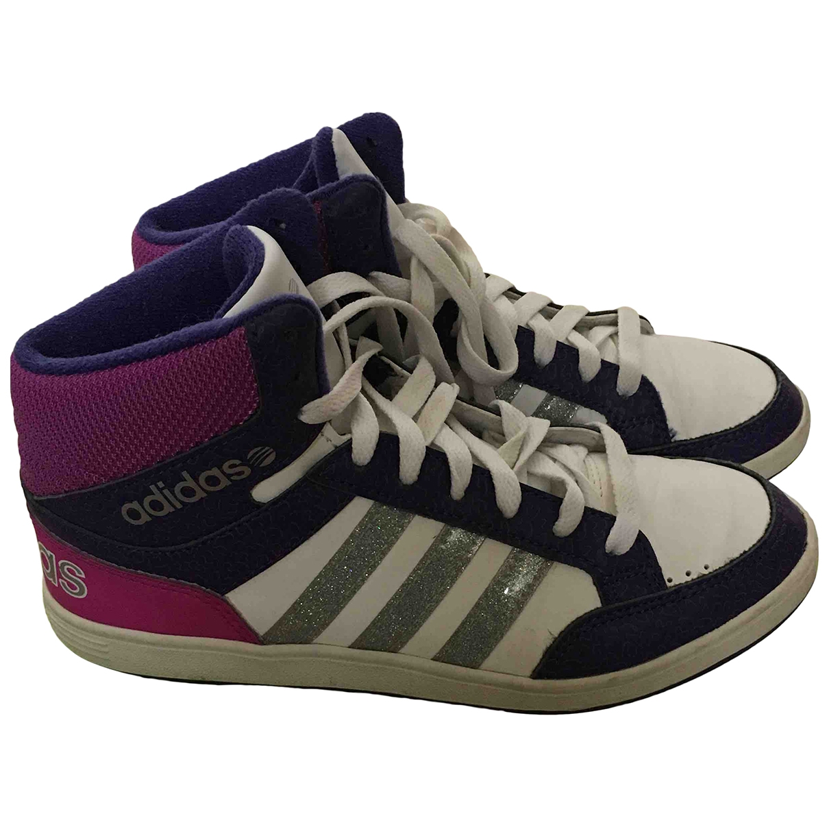 Adidas \N Leather Trainers for Kids 36 EU