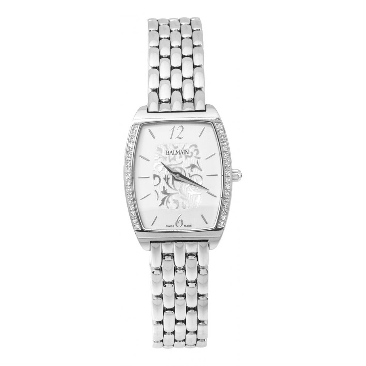 Balmain N Silver Steel watch for Women N