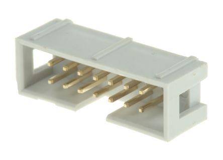 RS PRO , 14 Way, 2 Row, Straight PCB Header