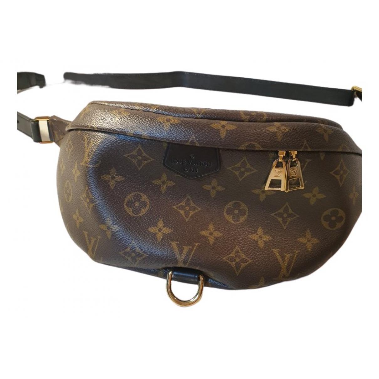 Louis Vuitton - Pochette Bum Bag / Sac Ceinture pour femme en toile - marron
