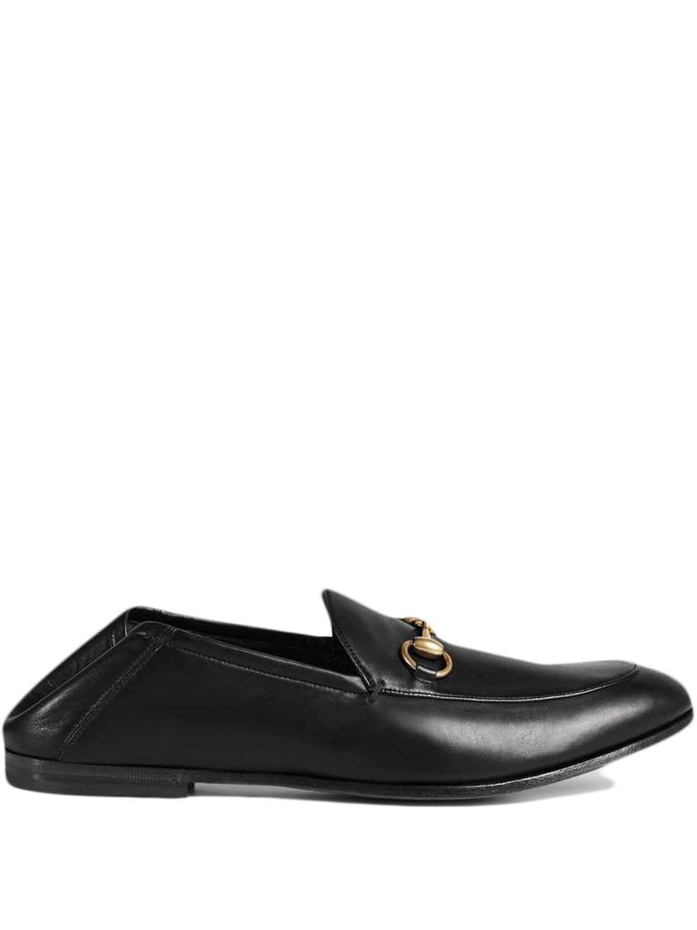 Brixton Horsebit Leather Loafers