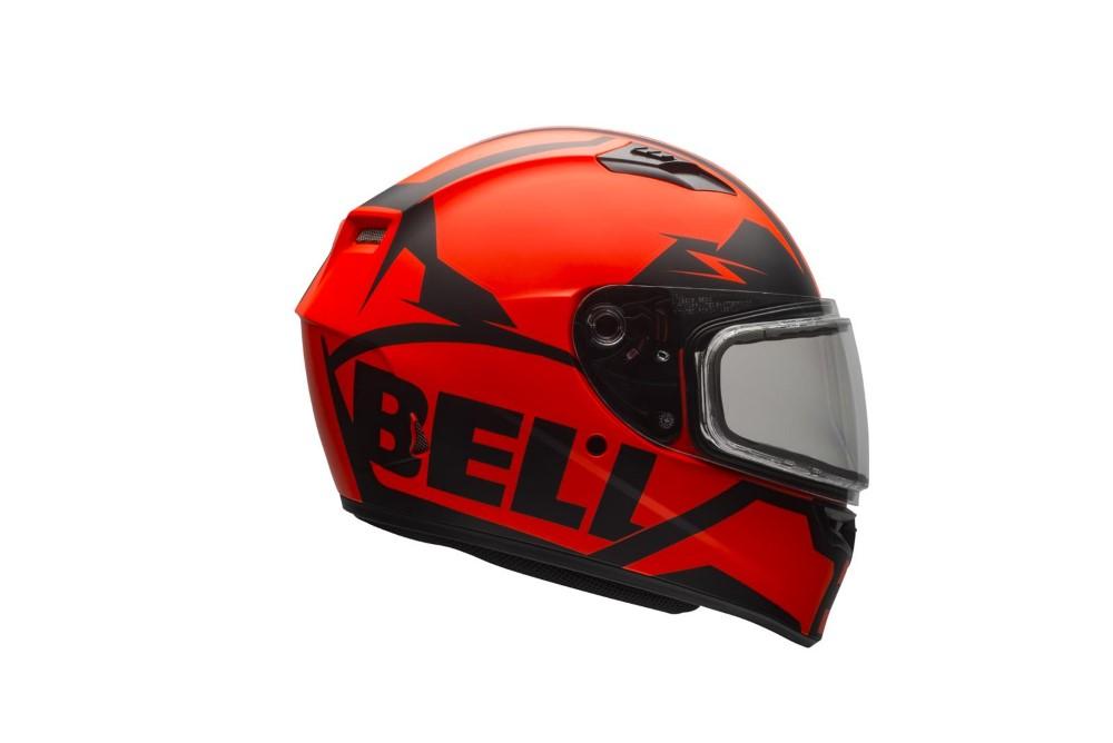 Bell Racing 7076080 Qualifier Snow Helmet w/ Dual Shield