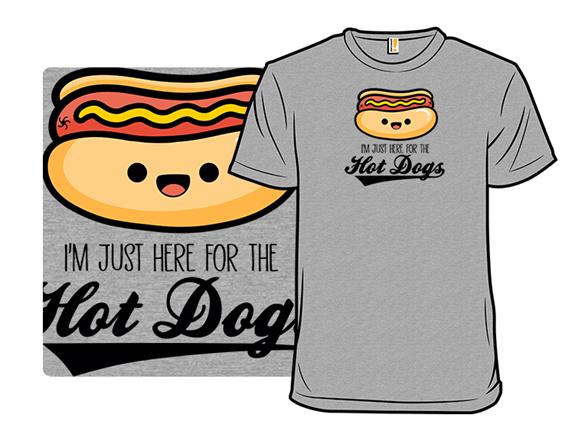 Team Hot Dog T Shirt