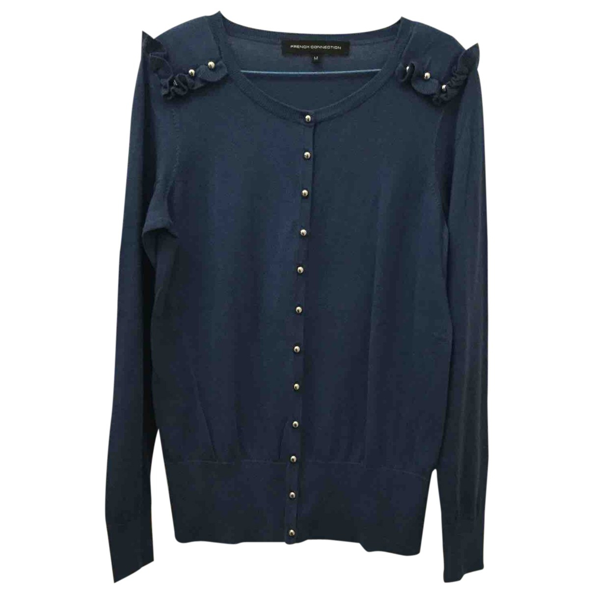 French Connection \N Blue Cotton Knitwear for Women M International