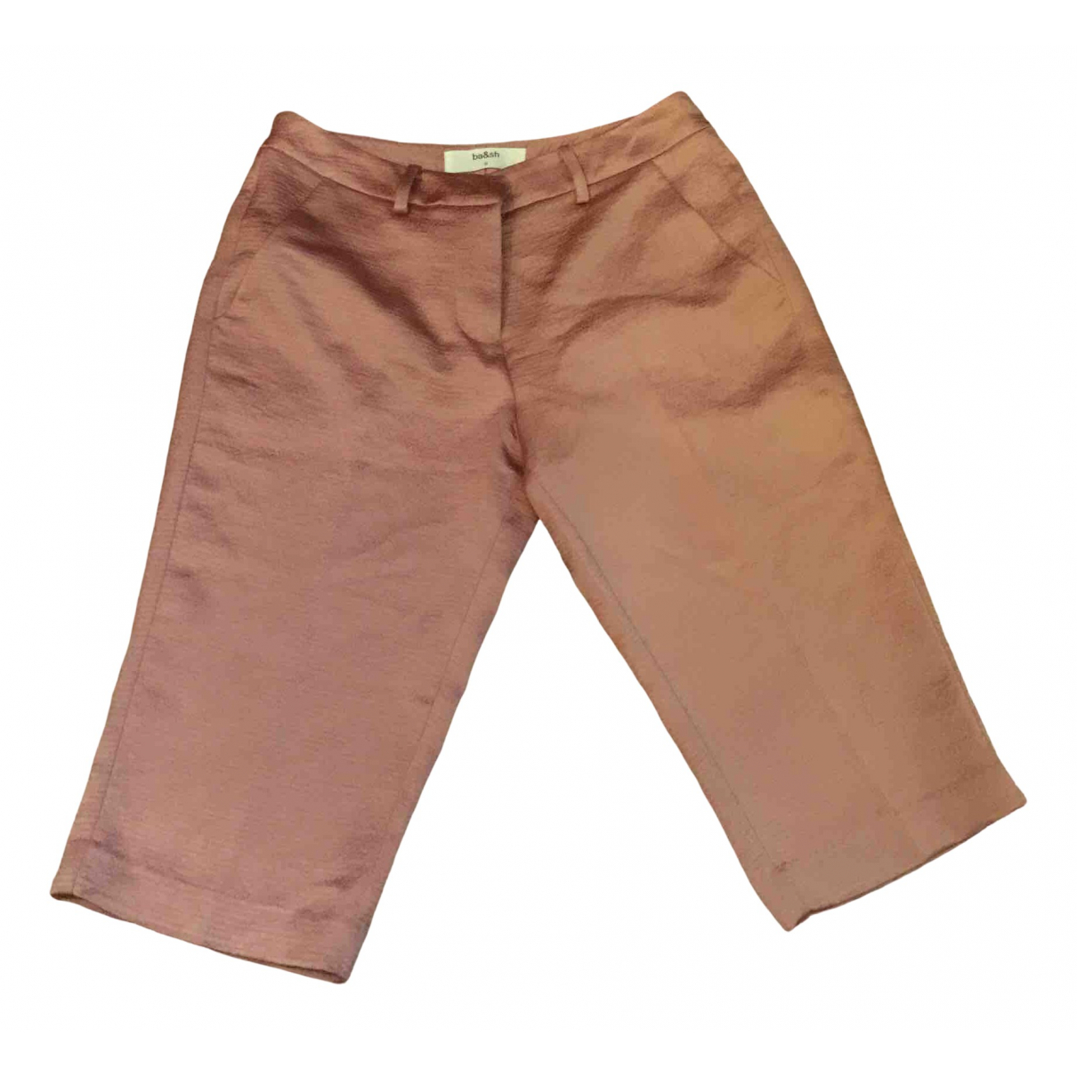 Ba&sh Spring Summer 2020 Shorts in  Rosa Polyester
