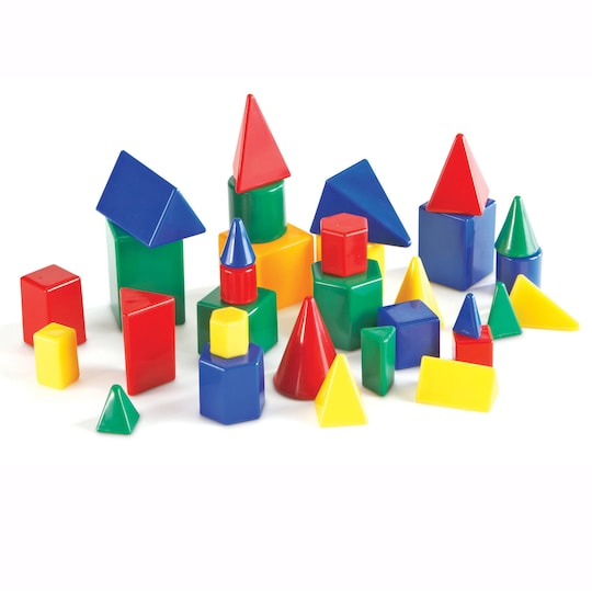 Learning Resources® Mini Geosolids® Set Of 32 | Michaels®