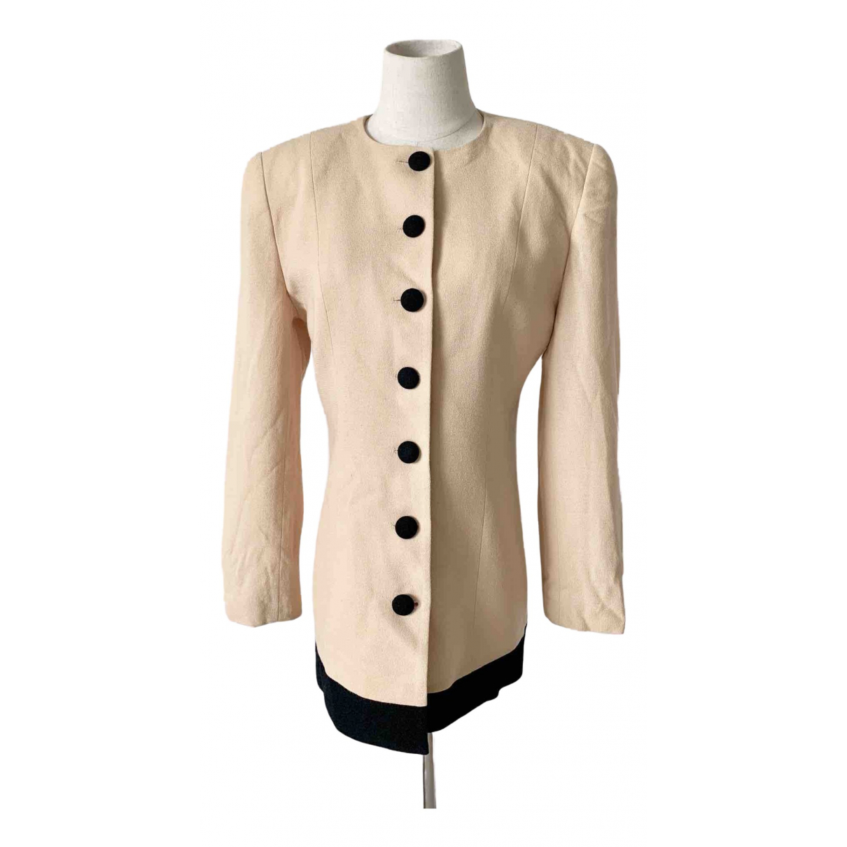 Dior - Veste   pour femme en laine - beige