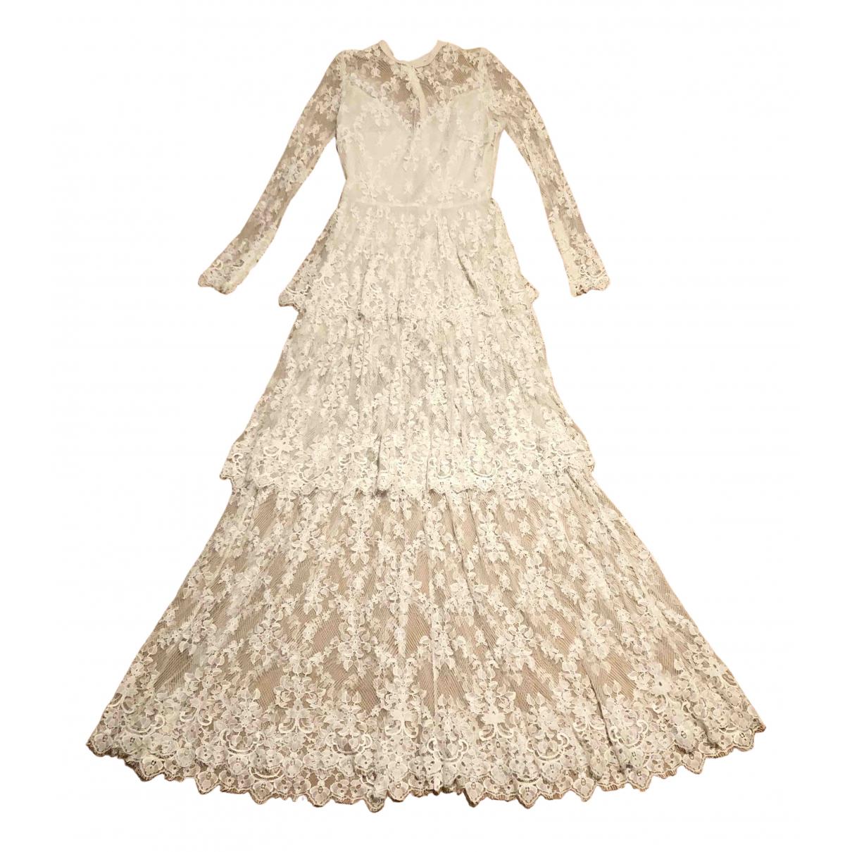 Maxi vestido de Encaje Elie Saab