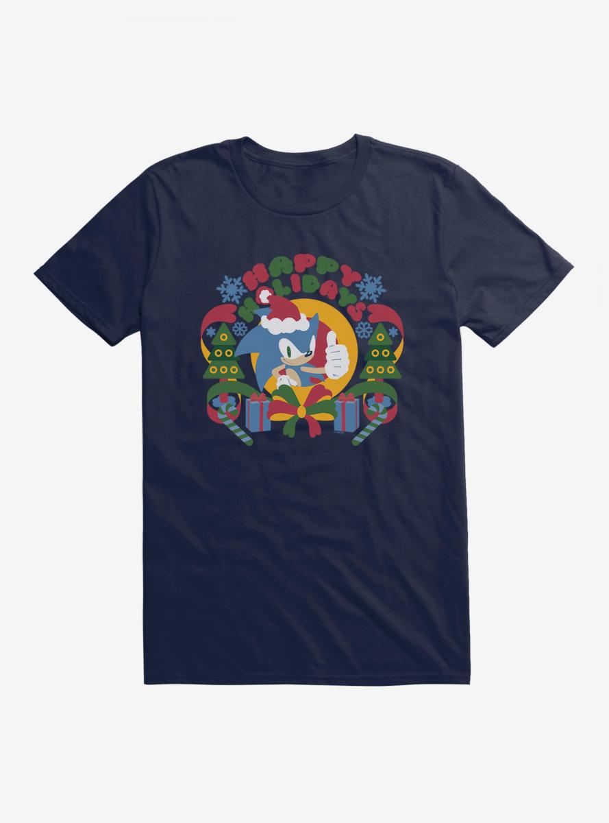 Sonic The Hedgehog Winter Sonic Claus T-Shirt