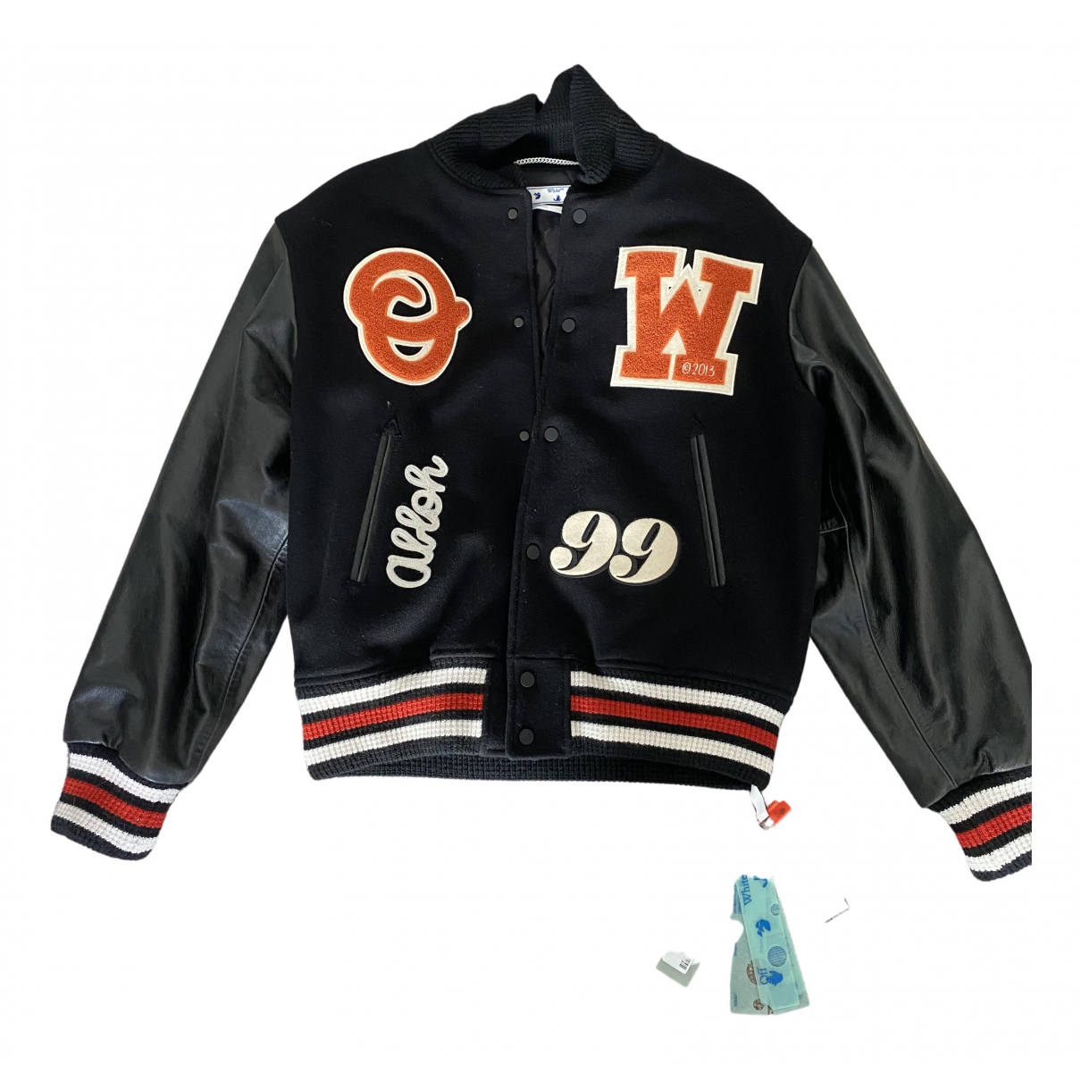 Off-white \N Black Wool jacket  for Men L International