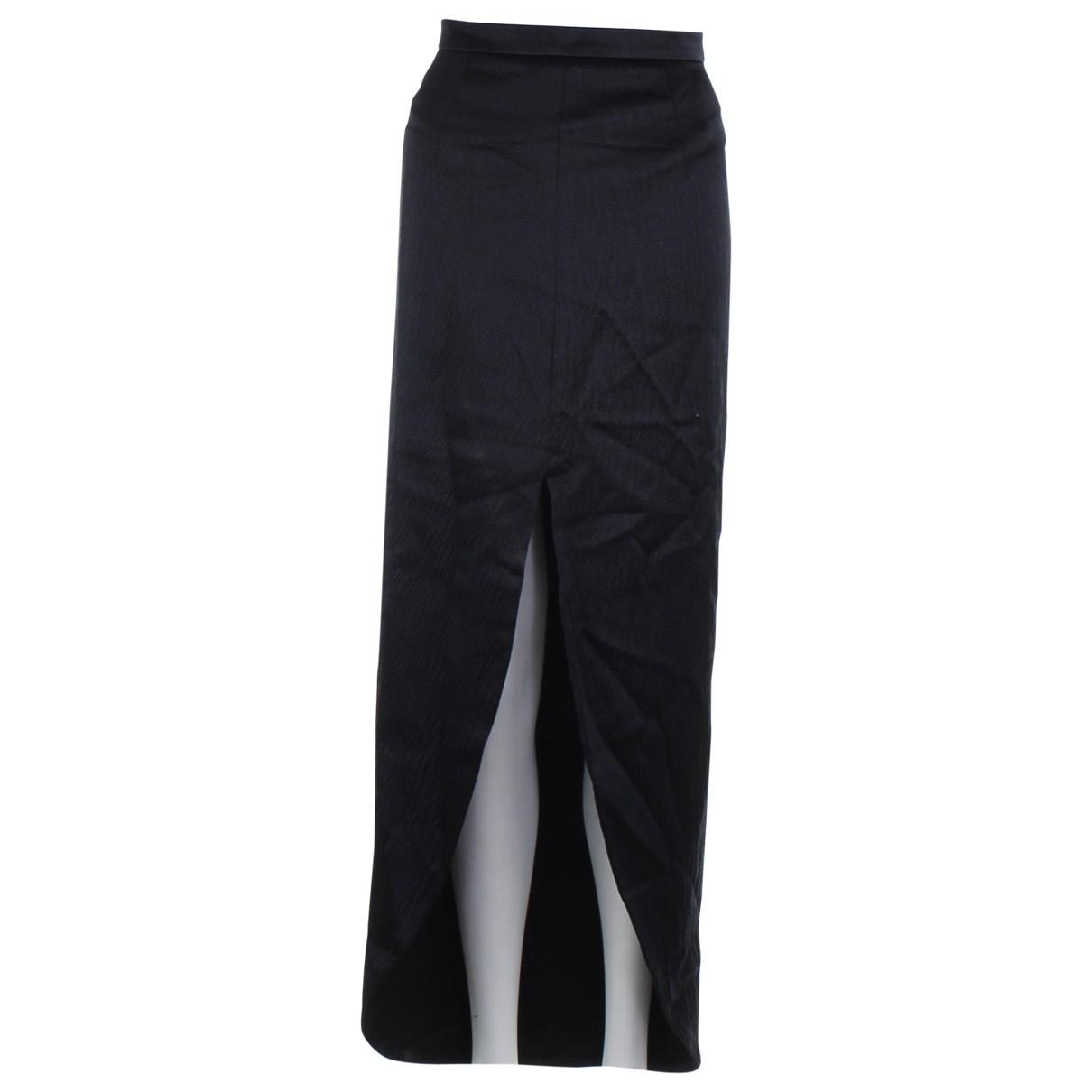 Balenciaga - Jupe   pour femme en soie - noir
